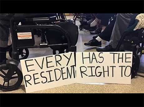Every resident has the right to