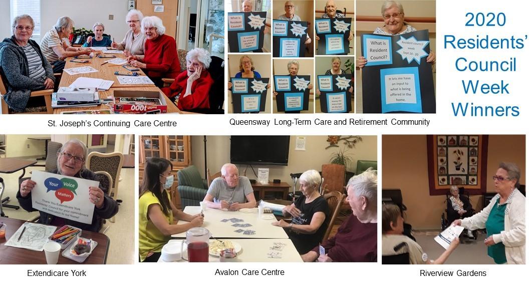 Residents' Council Week 2020 Winners